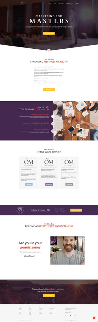 Om Marketing - Homepage -500